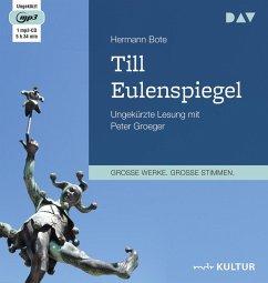 Till Eulenspiegel. Ein kurzweiliges Buch von Till Eulenspiegel aus dem Lande Braunschweig in 96 Historien, 2 MP3-CD - Hermann, Bote