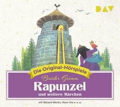 Rapunzel und weitere Märchen, 1 Audio-CD - Grimm, Jacob; Grimm, Wilhelm