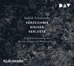 Verzeichnis einiger Verluste. Erzählungen, 6 Audio-CDs - Schalansky, Judith