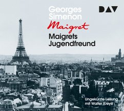 Maigrets Jugendfreund / Kommissar Maigret Bd.69 (4 Audio-CDs) - Simenon, Georges