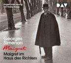 Maigret im Haus des Richters / Maigret Bd.21 (4 Audio-CDs)