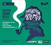 Sherlock Holmes - Die Abschiedsvorstellung, 3 Audio-CDs