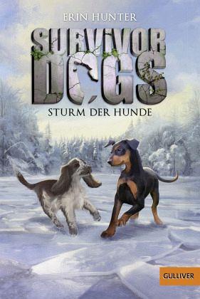 Buch-Reihe Survivor Dogs von Erin Hunter
