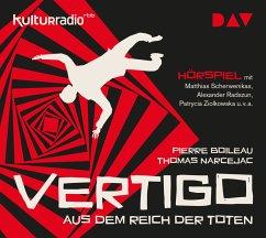 Vertigo. Aus dem Reich der Toten, 1 Audio-CD - Boileau, Pierre; Narcejac, Thomas