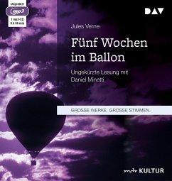 Fünf Wochen im Ballon, 1 MP3-CDs - Verne, Jules