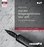 Aus den Kriegstagebüchern 1914-1918, 1 MP3-CD