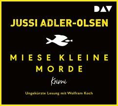 Miese kleine Morde. Crime Story, 2 Audio-CDs - Adler-Olsen, Jussi