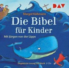 Die Bibel für Kinder (Sonderausgabe), 2 Audio-CDs - Käßmann, Margot