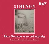 Der Schnee war schmutzig / Kommissar Maigret Bd.63 (6 Audio-CDs)