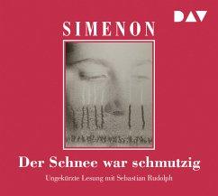 Der Schnee war schmutzig / Kommissar Maigret Bd.63 (6 Audio-CDs) - Simenon, Georges
