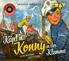 Käpt'n Konny in der Klemme und weitere Abenteuer, 1 Audio-CD - Ferenczy, Sándor