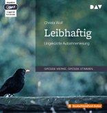Leibhaftig, 1 Audio-CD, 1 MP3