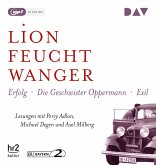 """Die """"Wartesaal""""-Trilogie. Erfolg - Die Geschwister Oppermann - Exil, 3 MP3-CDs"""