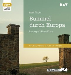 Bummel durch Europa, 1 MP3-CD - Twain, Mark