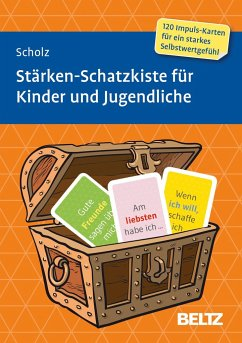 Stärken-Schatzkiste für Kinder und Jugendliche - Scholz, Falk