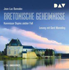 Bretonische Geheimnisse / Kommissar Dupin Bd.7 (9 Audio-CDs) - Bannalec, Jean-Luc