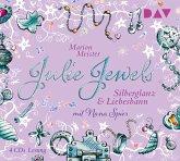 Silberglanz und Liebesbann / Julie Jewels Bd.2 (4 Audio-CDs)