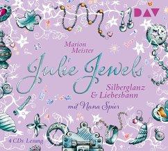 Silberglanz und Liebesbann / Julie Jewels Bd.2 (4 Audio-CDs) - Meister, Marion