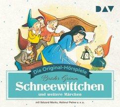 Schneewittchen und weitere Märchen, 1 Audio-CD - Grimm, Jacob;Grimm, Wilhelm
