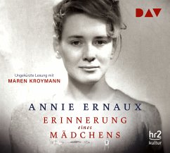 Erinnerung eines Mädchens, 4 Audio-CDs - Ernaux, Annie