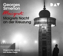 Maigrets Nacht an der Kreuzung / Maigret Bd.7 (3 Audio-CDs) - Simenon, Georges