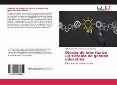 Diseño de interfaz de un sistema de gestión edu...