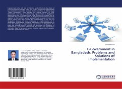 E-Government in Bangladesh: Problems and Solutions of Implementation