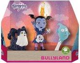 Bullyland 13124 - Walt Disney, Vampirina, Ghoul Girls Vampirina, Demi und Wolfie, 3tlg, Spielfigurenset