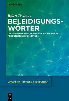 Beleidigungswörter (eBook, ePUB)