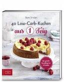 40 Low-Carb-Kuchen aus 1 Teig