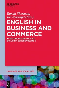 English in Business and Commerce (eBook, ePUB)
