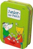 HABA 303700 - Junior-5er-Pasch, Würfelspiel, Reisespiel