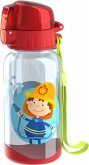HABA 303695 - Trinkflasche Feuerwehr, Kinder-Trinkflasche, Kunststoff 400ml,