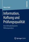 Information, Haftung und Prüfungsqualität (eBook, PDF)