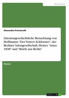 Literaturgeschichtliche Betrachtung von Hoffmanns