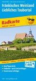 PublicPress Radkarte Fränkisches Weinland - Liebliches Taubertal, Würzburg - Tauberbischofsheim