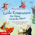 Große Komponisten für kleine und große Ohren, 4 Audio-CDs