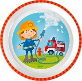 HABA 303692 - Teller Feuerwehr, 18cm