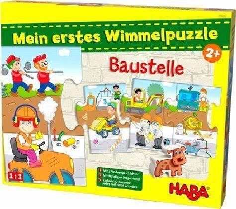 Mein erstes Wimmelpuzzle - Baustelle (Kinderpuzzle)