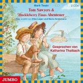 Tom Sawyers & Huckleberry Finns Abenteuer, 2 Audio-CDs