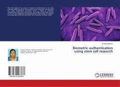 Biometric authentication using stem cell research