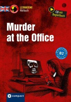 Murder at the Office, 1 Audio-CD + Begleitbuch - Trenker, Sarah