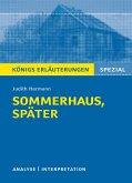 Sommerhaus, später. Königs Erläuterungen. (eBook, ePUB)