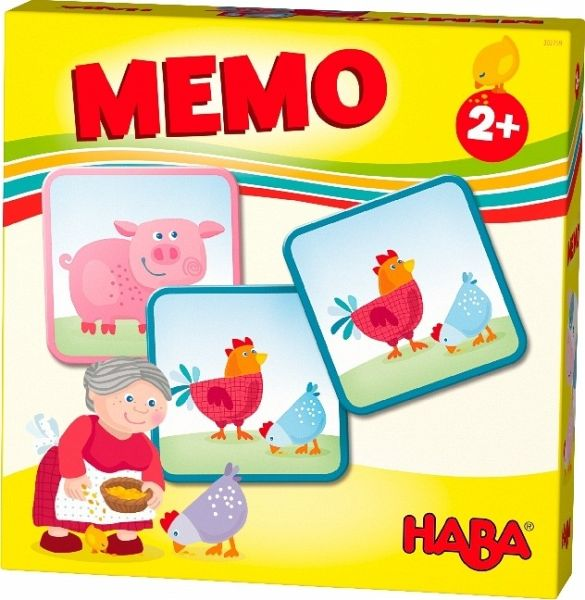 HABA-Lieblingsspiele - Memo Bauernhof (Kinderspiel)
