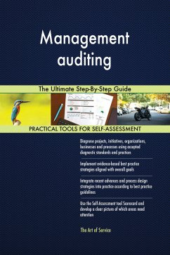 Management auditing The Ultimate Step-By-Step G...