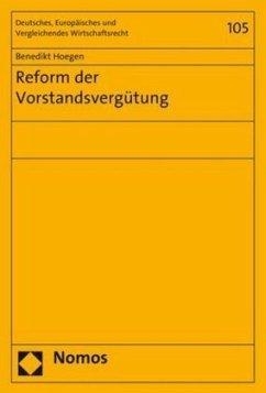 Reform der Vorstandsvergütung