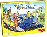HABA 303736 - Tschu-Tschu, kleine Eisenbahn! Farb-Würfel-Spiel, Brettspiel
