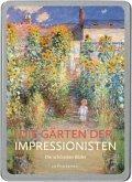 Die Gärten der Impressionisten. 20 Postkarten
