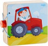 Holz-Babybuch Traktor