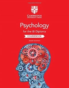 Psychology for the IB Diploma Coursebook - Solomon, Jacob